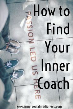 How to Find Your Inner Coach - some day it's tough being a small business owner. Here's what you can do every day to help you keep a positive mindset and to keep moving forward with your goals. via @penneyfox
