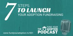 In this first episode of the Fund Your Adoption Podcast, Jeremy Resmer shares his adoption story and 7 steps to launch your adoption fundraising.