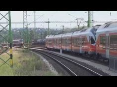 Trains in Hungary 2016 - Hungarian Railways [Hungarian State Railways] - YouTube