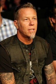 ATLANTIC CITY, NJ - JUNE 22:  James Hetfield of Metallica watches the main event lightweight bout between Clay Guida and Gray Maynard (not pictured) during UFC on FX 4 at Revel Casino on June 22, 2012 in Atlantic City, New Jersey.