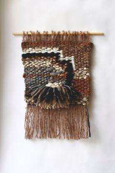 Textile Art - Handwoven wall hanging  -  Wall Weaving - Fiber Textiles - Tapestry - Weaving - Wall Art - Custom made