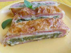Fotorecept: Špenátový závin 20 Min, Tuna, Sandwiches, Pizza, Fish, Meat, Cooking, Nov, Kitchen
