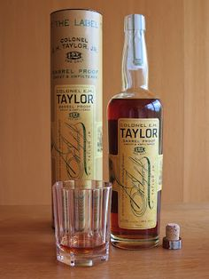 Colonel E.H. Taylor Barrel Proof. Tried some on a recent trip through KY, it's amazing!