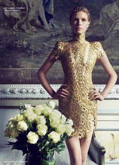 Amanda Nimmo by Benjamin Kanarek for Fashion