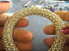 mini mini tutorial bracciale bangle - YouTube