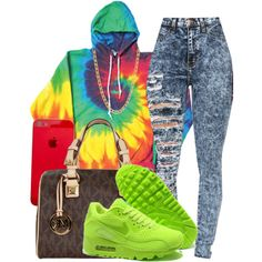 A fashion look from September 2014 featuring NIKE shoes, MICHAEL Michael Kors handbags and Gogo Philip necklaces. Browse and shop related looks.