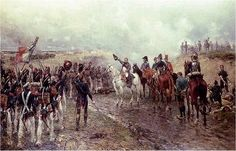 Napoleons Last Grand Attack by Ernest Crofts