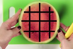6 Fruits You've Been Eating All Wrong | Mental Flosshow How to cut:   kiwi, strawberries,  pomegranite,watermellon, orange, mango