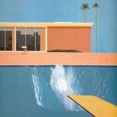 Swimming Pool... Artist: David Hockney