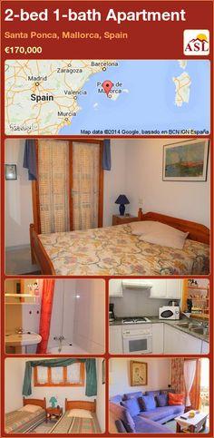 2-bed 1-bath Apartment in Santa Ponca, Mallorca, Spain ►€170,000 #PropertyForSaleInSpain