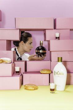 CHAMBORD Jelly Doughnut. ••• 1 part CHAMBORD Liqueur 2 parts RUMCHATA® ••• Pour CHAMBORD into a shot glass. Then pour RUMCHATA® into a shaker with ice. Shake, shake, shake, and layer over CHAMBORD with a spoon.