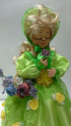 """Интерьерная авторская кукла  """"Мэри"""". Автор Сухорада Ольга."""