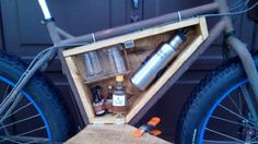 Take the Party Anywhere with a Custom Mini-Bar for Your Bike