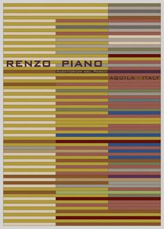 Renzo Piano Patterning Iconic Architecture: Andre Chiote Illustrates Surfaces and Textures