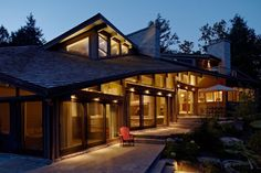 The Kennisis Lake House project was 2013's winner in the Residential Wood Design category. Photo courtesy Altius Architecture Inc.