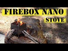 FireBox Nano Stove - YouTube