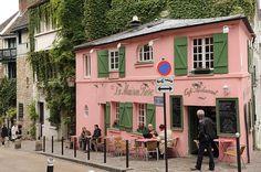 Idée La Maison rose de Montmartre