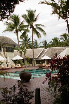 The relaxing #pool of Villa Maly, Luang Prabang