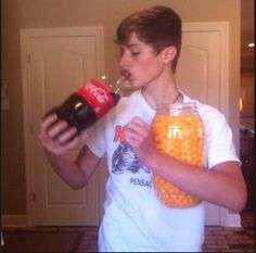 Dylan Dauzat explaining my life! lol Except I'm jugging sprite not coke LOL.