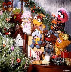 The Muppet Mindset Disney Christmas, Christmas Baby, Vintage Christmas, Christmas Time, Muppets Christmas, 1980s Christmas, Christmas Images, Christmas Decor, Sesame Street Muppets