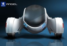 Angel Car Concept with Futuristic Look and A Bit of Retro Charm