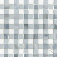 Bonnie Jewel glass mosaic field shown in Pearl, Moonstone and Opal.