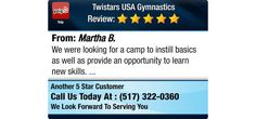We were looking for a camp to instill basics as well as provide an opportunity to learn...