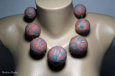 Marlene Brady. Big, Bold Polymer Necklaces 1996