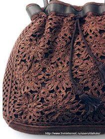 Crochê Gráficos: Bolsa de crochê