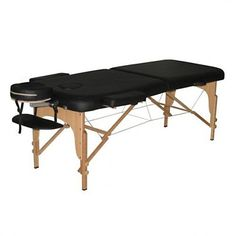 Alva Portable Massage Bed is comfortable, durable, and easy to transport. The Alva is finished with rich black vinyl upholstery for durability Nail Salon Furniture, Bed Furniture, Outdoor Furniture, Outdoor Decor, Massage Bed, Massage Table, Spa Chair, Shops, Portable