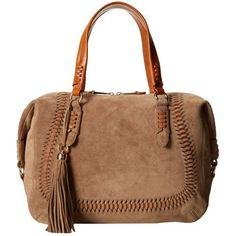 @ LAUREN by Ralph Lauren Indian Cove Suede Satchel (Desert) Satchel Handbags $209.99 by bakaras