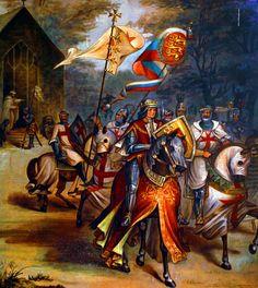 King Richard the Lionheart on crusade
