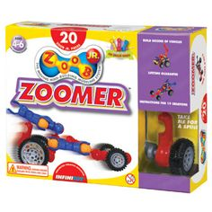 Zoob Jr Zoomer Car Set by InfiniToy | eBeanstalk