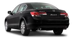 Honda Accord - tabela comparativa das dimensões