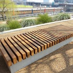 Wall Seat - Woodscape offers a bespoke design service to help you create innovative hardwood street furniture specific to your own specification.