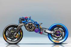 Formula EV XTrem Racer / Frame Detail/ by Jean-Thomas MAYER / (FRA)