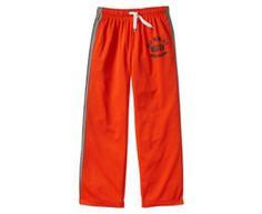 Gap Side Stripe Mesh Active Pants - Orange pop