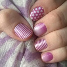 Jamberry Nails- I love these!! What a great combination! #jamberry #nailart #nailvanity www.nailvanity.jamberrynails.net