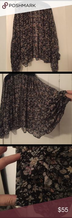 Winter Kate silk cape Amazing Winter Kate silk cape. Actually has sleeves. See pic. This piece is a show stopper!! PERFECT CONDITION Winter Kate Tops Blouses