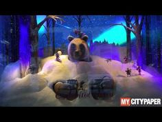 Lord & Taylor 2016 Holiday Windows: Enchanted Forest