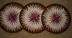 Seasonal Table Runner ~ Quiltworx.com, made by Certified Instructor, Sue Wilson