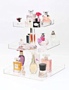 Bella XL 3-Tier Perfume Storage Holder – The Makeup Organizer