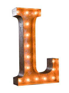 Lighting/Design for Events L by Vintage Marquee Lights on Gilt Home