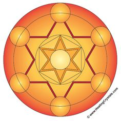 Colored Crystal Grid Templates - Crystal Healing Articles - Information About Crystals As A Healing Tool