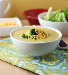Pureed Broccoli Soup