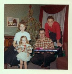 Vintage Kodachrome | 1960 Christmas Family kodachrome vintage color by maclancy on Etsy