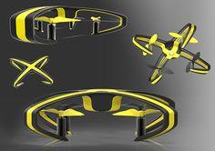 Parrot Drones (concept) on Behance