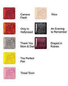 Red Carpet Manicure Gel Polish - Glitters