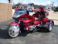 2016 trike motorcycle | Honda Goldwing Trikes
