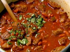 Devon's Award-Winning Chili from FoodNetwork.com - Barefoot Contessa - looks great even if she is from the north east!